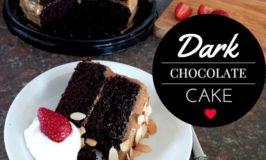 Chocolate Indulgence – Dark Chocolate Cake