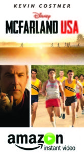 Mcfarland USA movie from Amazon Video
