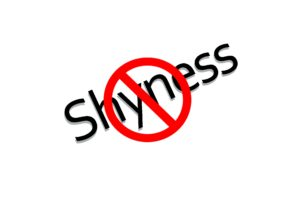 shyness banned sign