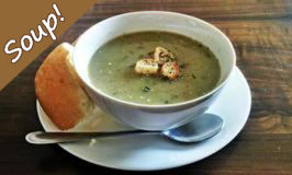 Chicken & Green Vegetable Soup