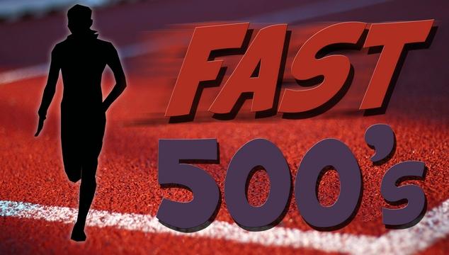 running fast 500 meters