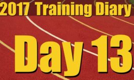 2017 Training Diary: Day 13 – Short Sprints and Plyos