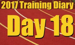 2017 Training Diary: Day 18 – Rest… I have a cold. :(