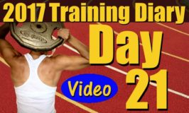 2017 Training Diary: Day 21 – Back and Shoulders