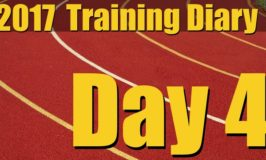 2017 Training Diary: Day 4 – Sprints, Plyos, Hammers, and Leg Work