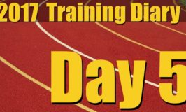 2017 Training Diary: Day 5 – Rest