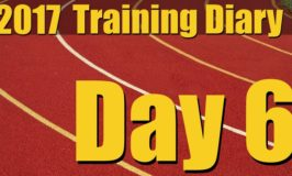 2017 Training Diary: Day 6 – Sprints, Plyos and Frog Hops