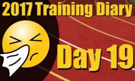 2017 Training Diary: Day 19 – 3km run, still sick