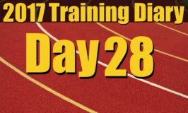 2017 Training Diary: Day 28 – Back in the Weight Room