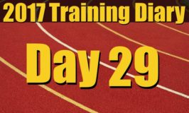 2017 Training Diary: Day 29 – Chasing a PB in the 400m